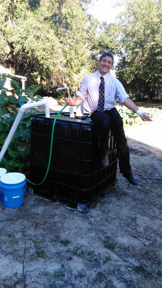 Faith Lutheran Evangelical Church Community Garden Biodigester