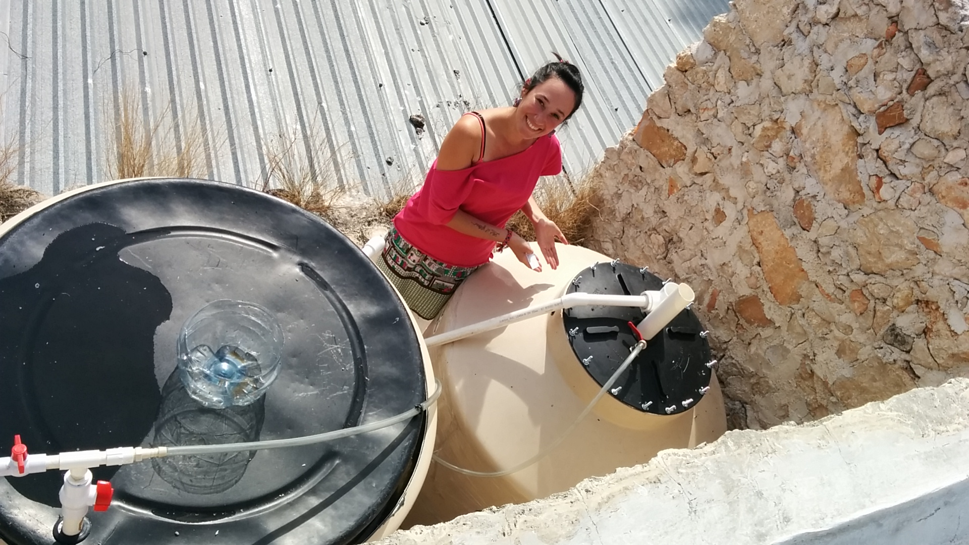 """""""Bode-gas"""": Mexico's first Urban Biogas systems are installed at the office of the Fundacion Haciendas del Mundo Maya in Merida"""