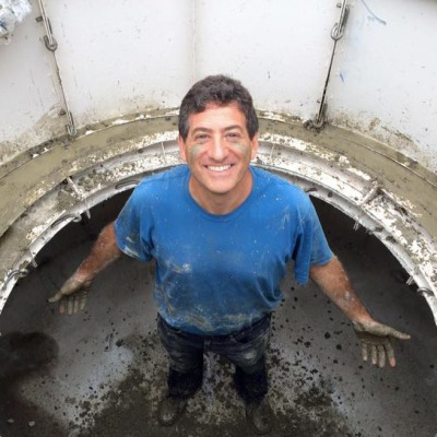 Why is this guy smiling? Because Solar CITIES just built New York's first Puxin biodigester for the Permaculture Community!