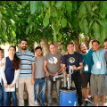 These are the workshop participants in Beit Jala Palestine where we built the digester
