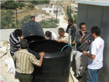 Building the first home scale biodigester in Palestine with the Palestinian Wildlife Society, Engineers without Borders Palestine and Brother's Engineering Company in Beit Sahour