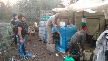 Solar CITIES city-based biodigester at urban site in Tulkarm, Palestine