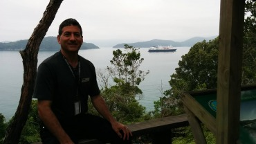 Culhane biogas presentation on National Geographic Explorer ship