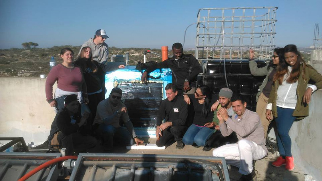 Farkha Biogas Build with Students in Palestine