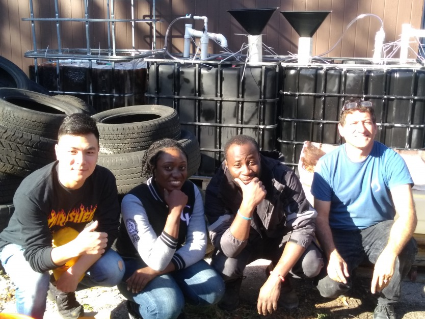 Mermaid Tavern's Solar CITIES Biodigester -- Our first commercial installation
