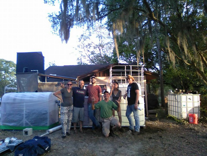 """Biogas Build at Koreen Brennan's """"Our Permaculture Farm"""""""